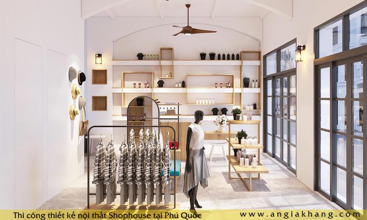 Thiết kế nội thất Shophouse