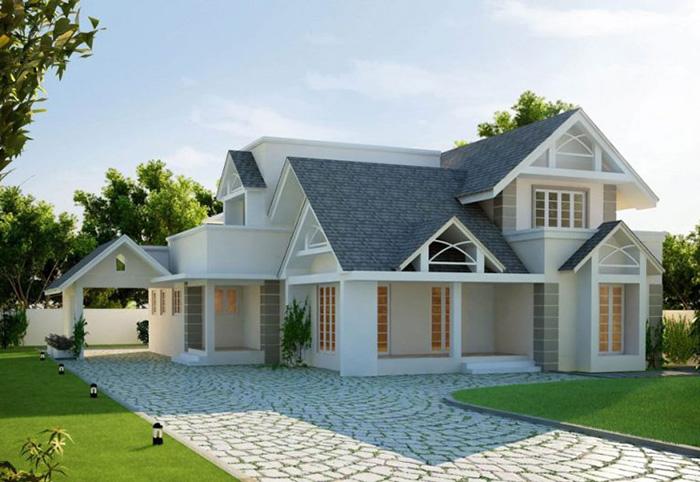 Những mẫu thiết kế nhà gác lửng đẹp 1 tầng ở nông thôn