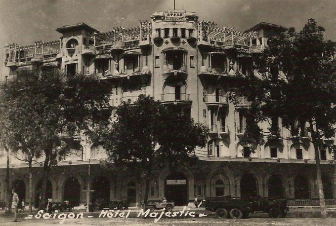 Khách sạn được xây dựng sớm nhất ở Sài Gòn